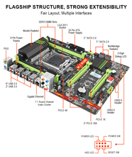 Kllisre X79 LGA2011 ATX USB3.0 motherboard