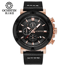 цена OCHSTIN Luxury Brand Watch Men Sport Quartz  Watches Chronograph Wrist Watch Relogio Time Hour Clock Reloj Hombre Mens Watches онлайн в 2017 году