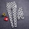 La familia a juego trajes de dibujos animados pantalones Family Clothing madre e hija ropa mamá y el bebé ropa ropa de dibujos animados, WY21