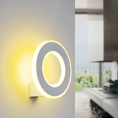 Wall Sconces,10w White Acrylic Modern LED Wall Lamp Light  For Bed Home Lighting Free Shipping джинсы мужские zhuo bielun zb15b006 2015