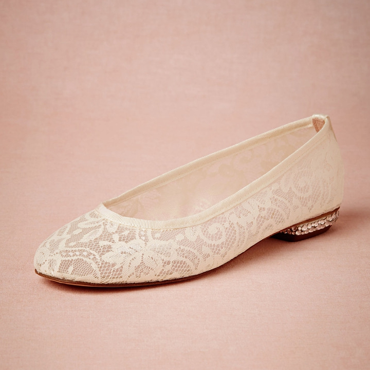 flat wedding shoes for bride ivory lace wedding shoes flats slip ons toe made to 4099