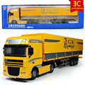 KAIDIWEI Engineering Vehicle 1:50 Scale Flat Transport Vehicle  Diecast Alloy Metal  Car Model Kids Toy