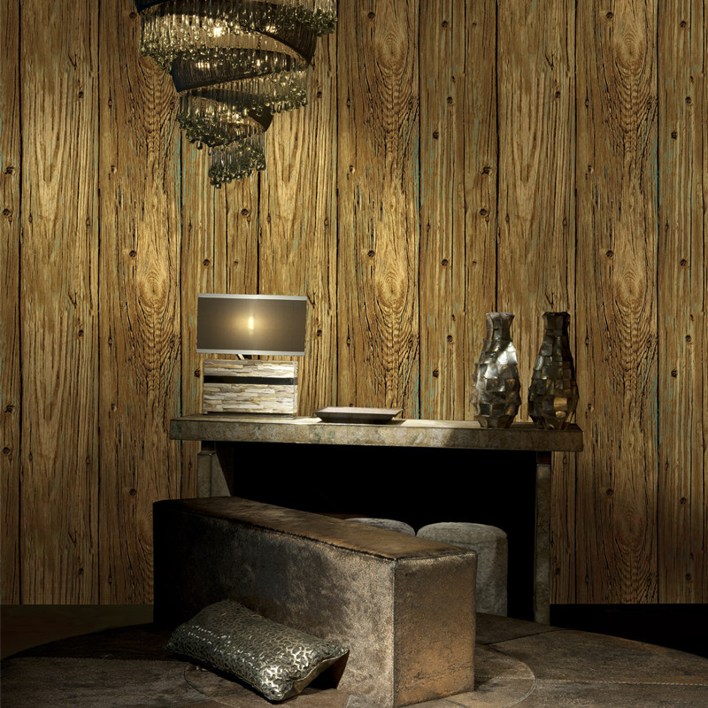 Buy 3d wood wallpaper living room natural for 3d wood wallpaper