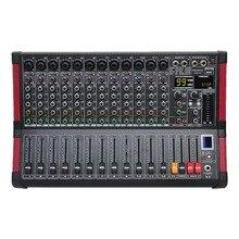 Freeboss MINI12 Bluetooth Record di 12 Canali (Mono) 99 DSP effetto di Riproduzione USB e la Funzione di Registrazione Mixer Audio Professionale