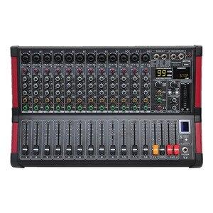 Image 1 - Freeboss MINI12 Bluetooth Rekord 12 Kanäle (Mono) 99 DSP wirkung USB Spielen und Rekord Funktion Professional Audio Mixer