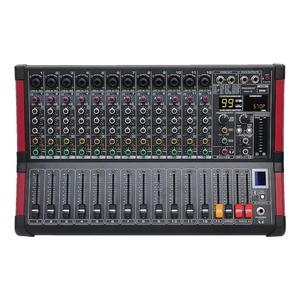 Image 1 - Freeboss MINI12 enregistrement Bluetooth 12 canaux (Mono) 99 DSP effet USB fonction de lecture et denregistrement table de mixage Audio professionnelle