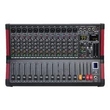 Freeboss MINI12 zapis Bluetooth 12 kanałów (Mono) 99 efekt DSP funkcja odtwarzania i nagrywania USB profesjonalny sprzęt Audio mikser
