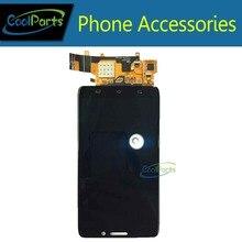 1 PC/Lot de Alta Calidad Para Motorola Droid Ultra XT1080 LCD Pantalla Y Pantalla Táctil Digitalizador Asamblea Color Negro