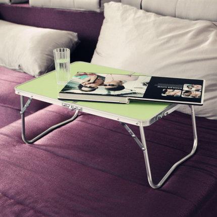 Bed folding computer desk, home notebook computer desk, outdoor simple desk, aluminum table рубашка silvian heach kids рубашка