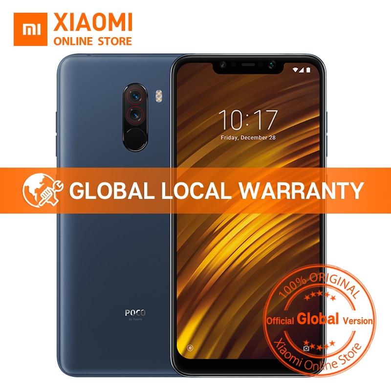 Global Version Xiaomi POCOPHONE F1 6GB 128GB POCO F1 Snapdragon 845 6.18″ Full Screen 20MP Front Camera LiquidCool Smartphone