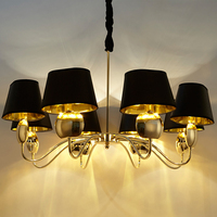 LED Luxury Crystal Chandeliers 110 220v Modern Dining Room Chandeliers E14 Home Lighting Chandelier Crystal Luminaria