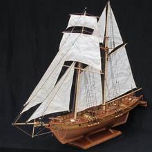 Нидейл модель Масштаб 1/96 классика античный линкор деревянные модели наборы Харви 1847 деревянная модель парусника