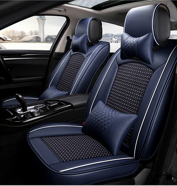 949b36640da Best quality! Full set car seat covers for Volkswagen Tiguan 2018-2011  durable fashion seat covers for Tiguan 2017