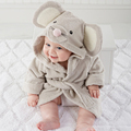 Charactor Newborn Bathrobe baby Robe 7Color Child Roupao Kids Contton Banho Robes Baby Clothing Bath Robe Infantil Pajamas