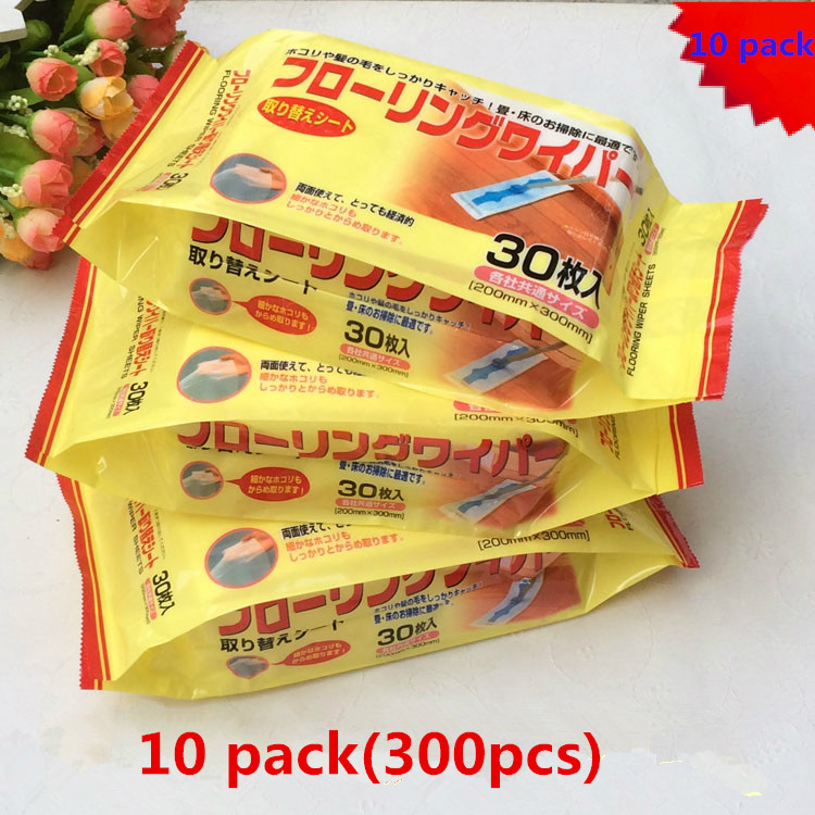 10pack Disposable sheets floor cleaning wipe electrostatic mop dust paper iRobot Braava 380 380T 320 321 375T Mint 4200 4205 Etc electrostatic control cleaning brush