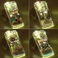 I6 6 S Plus 5S SÍ Casos de Dibujos Animados Llamado Caja de Luz LED Flash para iphone 6 6 s plus 5S sí luminoso brillo claro teléfono móvil cubierta
