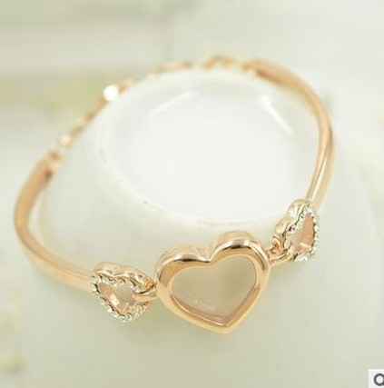 New Fashion Female Cute Heart Love Bracelets For Women Eternal Charm Jewelry Gift In From Accessories