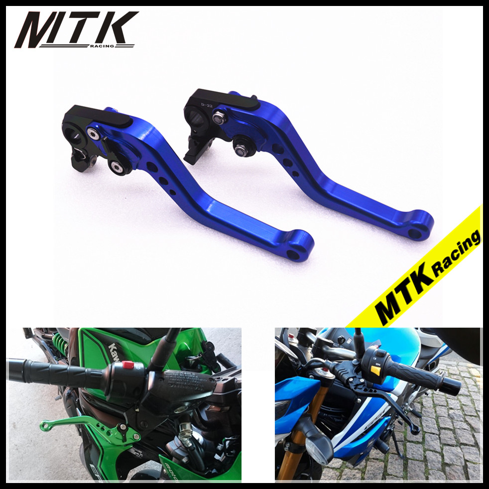 MTKRACING For BMW F800GS F800R F800GT F800S F800ST F650GS F700GS CNC Short Clutch Brake Levers Adjustable 7 colors
