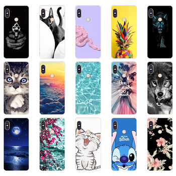 P silicone case For 5.99 inch Xiaomi Redmi Note 5 global pro Case Cover redmi note 5 Snapdragon 636 version note5 pro case image