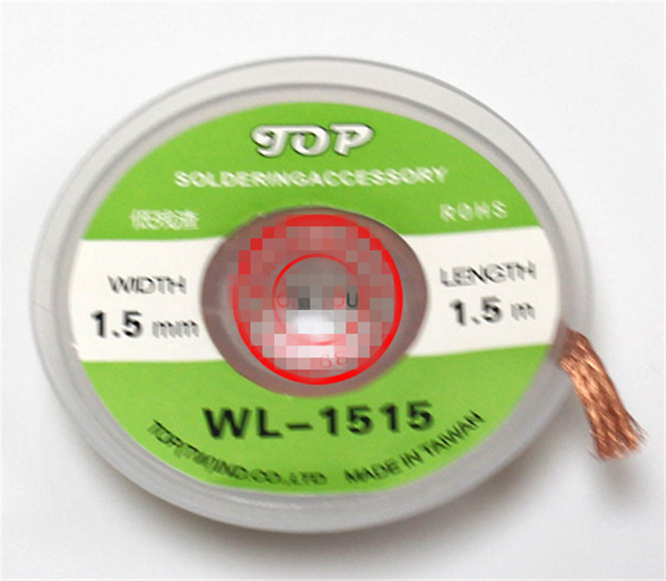 2017 HOT 1pcs Welding Wires Desoldering Braid Solder Remover Wick WL-1515