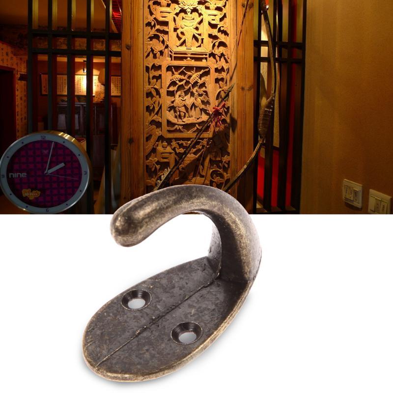 Винтажные античные крючки для спальни из цинкового сплава, вешалка для одежды, пальто, шляп, сумок, полотенец, вешалка для ванной комнаты, настенный крючок - Цвет: 01