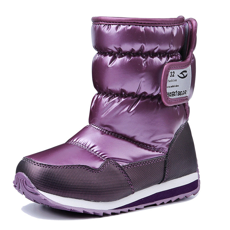 2017 New girls casual warm boots boys children snow boots kids high quality platform casual shoes for winter anti slippery waterproof girls snow boots kids warm ankle boots winter children new shoes high quality rabbit hair flat rubber