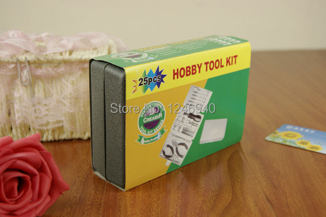 Metal toolbox 24 PC household hardware toolkits suit practical toolbox wholesale tool manufacturers