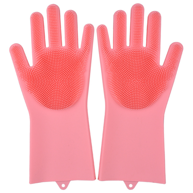 Siliconen schoonmaak handschoenen