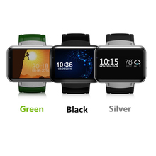 DM98 SmartWatch Android 5.1 Dual Core 1.2GHz 4GB ROM 2.2″ Display 900MAh GPS SIM Card 3G Bluetooth Smart Watch VS KW88 DZ09