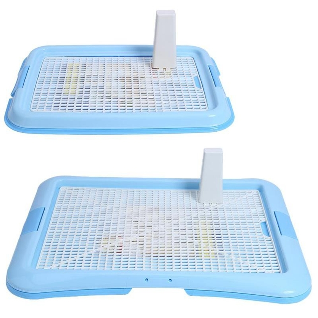Hot Sale Lattice Dog Toilet Potty Pet Toilet For Dogs Cat Puppy Litter Tray Training Toilet