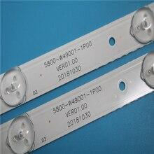 Podświetlenie Led dla 49E3000 49E6000 49E360E/5ERS 5800 W49001 1P00 5800 W49001 0P00 5850 W50007 1P00 5800 W49001 DP00 480MM