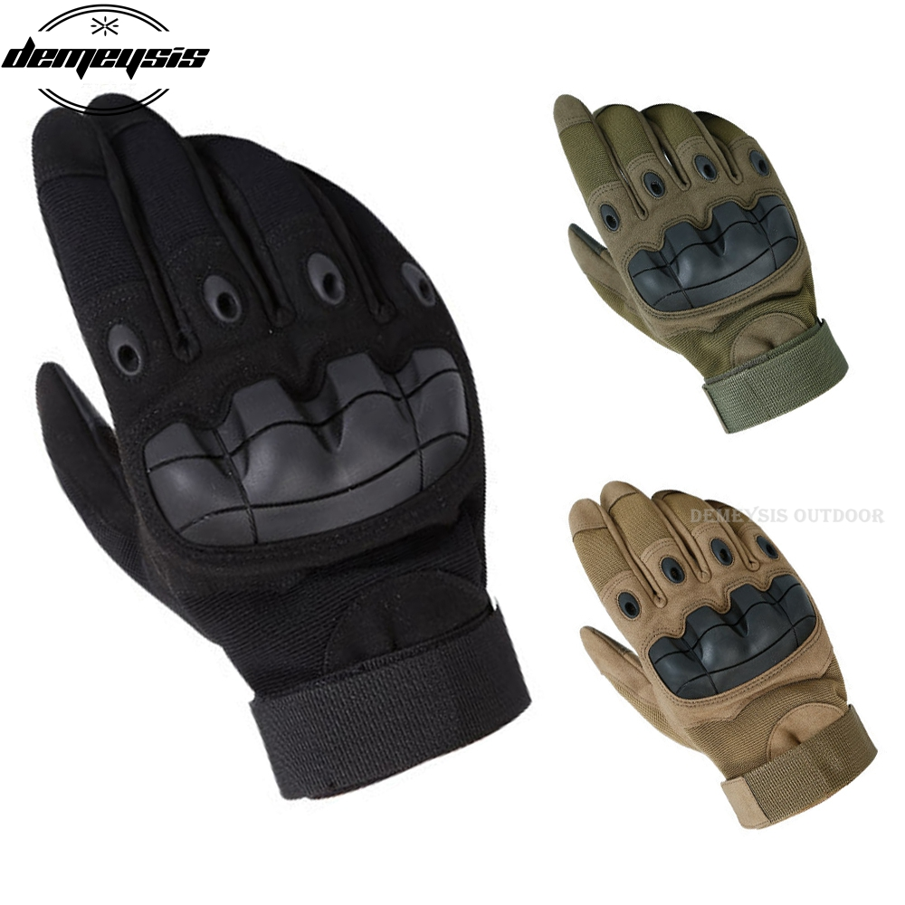 Tactical Gloves Soft Shell Outdoor Sports Tactical Climbing Men's Full Gloves For Hiking Hunting Climbing