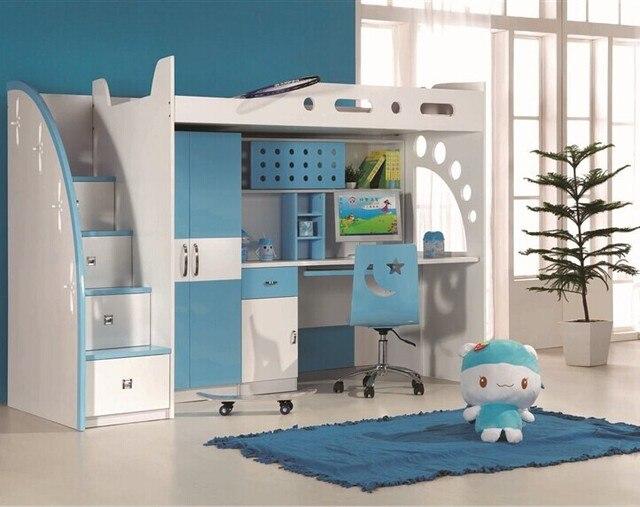 Children's bed Children's multifunction room with a desk