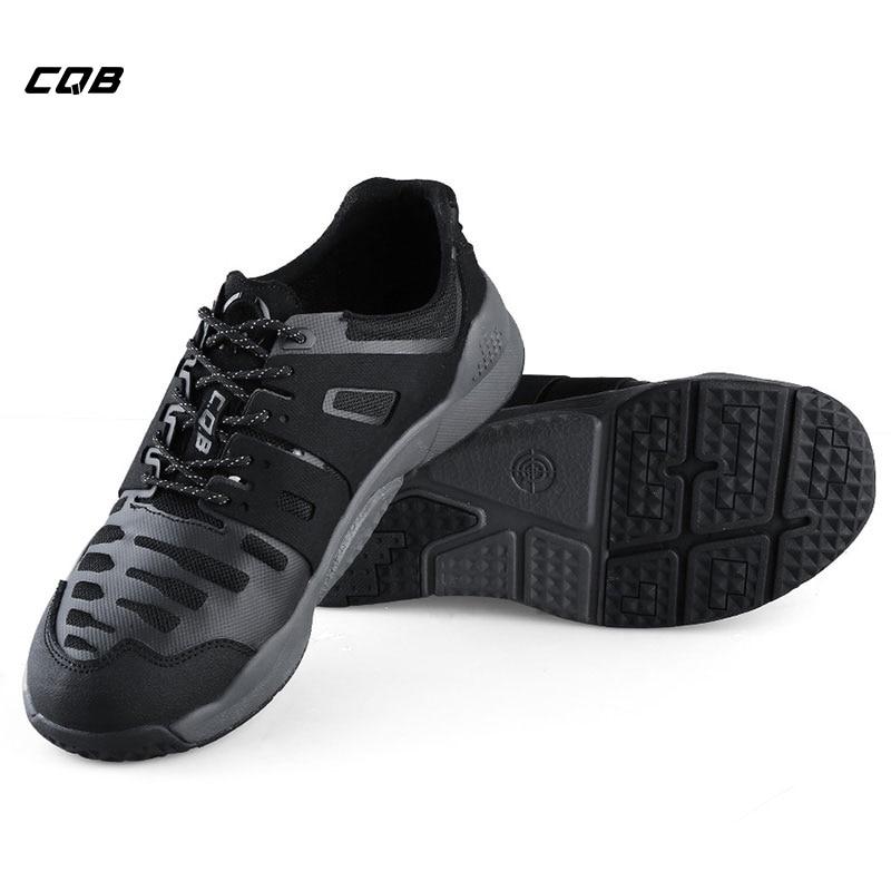 CQB Outdoor Sport Tactical Military Trekking Sneaker per l'arrampicata Escursionismo Uomo stivali da combattimento resistenti all'usura per il campeggio