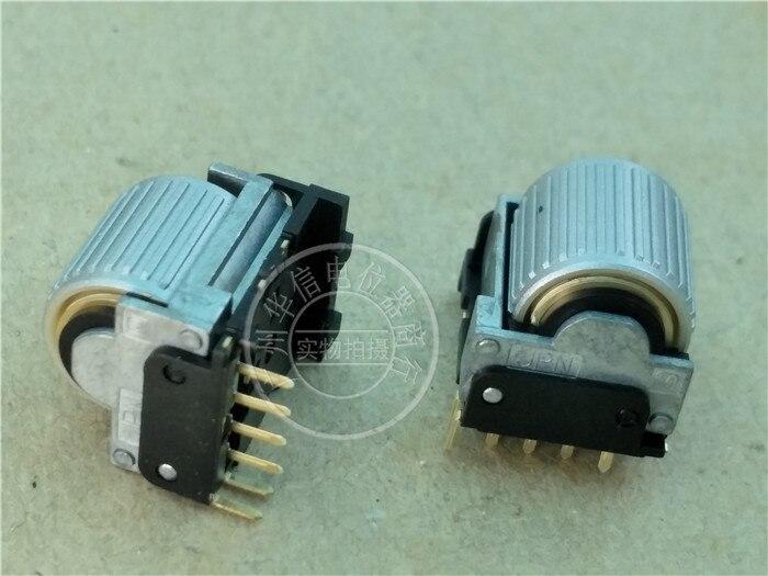 [BELLA] le potentiomètre codeur original japonais M avec interrupteur de presse à pneus 6 broches EVQWGD001-10 pièces/lot