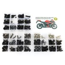 Для Suzuki GSXR600 GSXR750 GSX-R600 750 GSXR 600 750 2006 2007 Полный Комплект болтов обтекателей зажимы винты стали