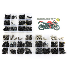 Completos Kits de Carenagem Parafusos Fastener Arruela Parafuso Para Suzuki GSXR600 GSXR750 GSX-R600 GSX-R750 GSXR 600 GSXR 750 2006 2007