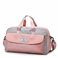 Woman Nylon Travel Organizer Duffle Bag Multi-function Large Capacity Luggage Clothes Malas De Viagem Packing Cubes Vs