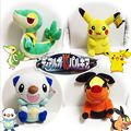 30cm Pocket Monster Plush Toy Pikachu Oshawott Snivy Tepig Soft Stuffed Animal Plush Doll With Tag Plush Toys kids toys Gift