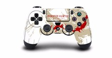 1pcs Monster Hunter World PS4 Skin Sticker Decal Vinyl For Sony PS4 PlayStation 4 Dualshock 4 Controller Skin Stickers