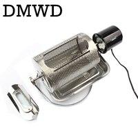 DMWD Home use coffee bean roaster machine stainless steel coffee beans roasting machine peanuts nuts 110V 220V 40w EU US BS plug