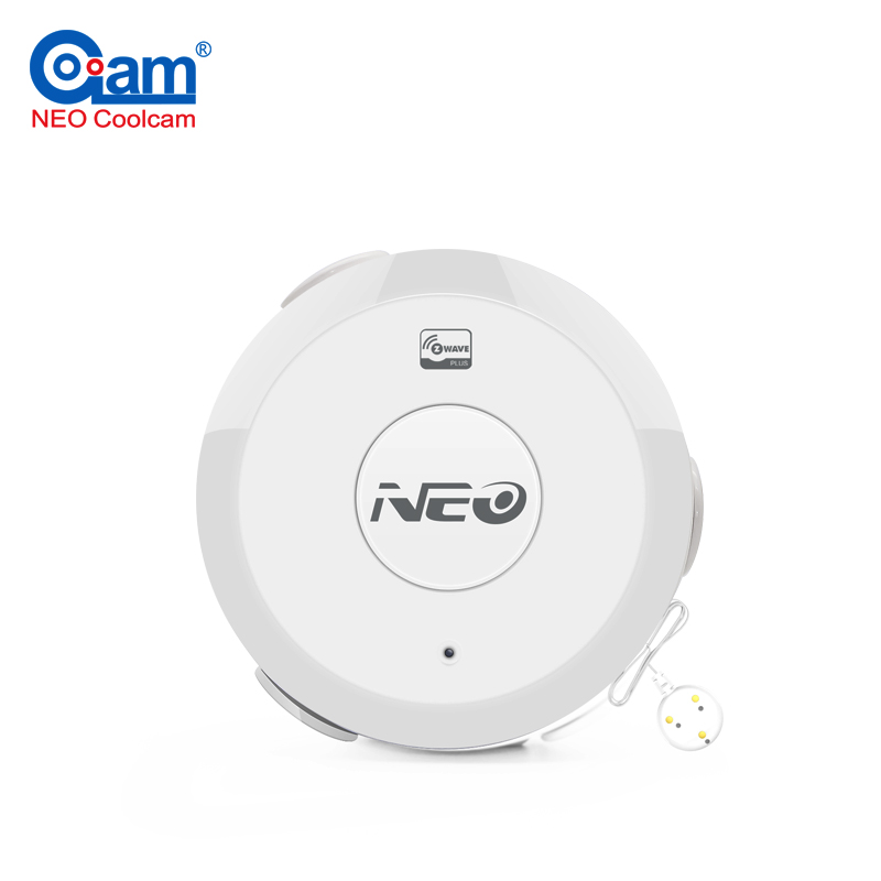 NEO COOLCAM NAS-WS01Z Z-wave Flood Sensor Compatible Water Leakage Sensor Z wave System Sensor Alarm Home Automation EU version neo coolcam nas pd02z new z wave pir motion sensor detector home automation alarm system motion alarm system eu us version