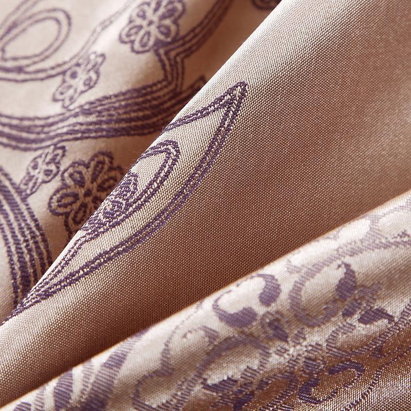 Europa Style Jacquard Sengetøj Sæt 4 / 6stk. Lace Bedclothes - Hjem tekstil - Foto 2