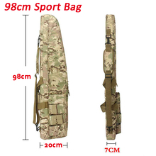 Tactical Gear Outdoor Hunting Rifle Protection Carry Case Nylon Bag About 98cm Airsoft Shooting Air Gun Shoulder Backpack
