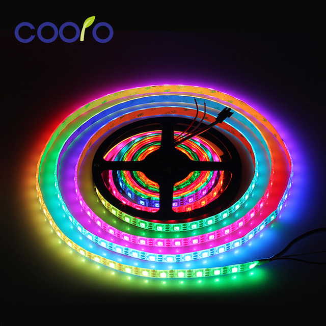 5m ws2812b rgb led strip light dc 5v rgb flexible led tape light 5m ws2812b rgb led strip light dc 5v rgb flexible led tape light ip30ip65 aloadofball Images