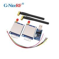 2SETS SV651 500mW 27dBm TTL/RS232/RS485 Interface 3KM Radio Modem 433MHz 27dBm RF Transceiver Module