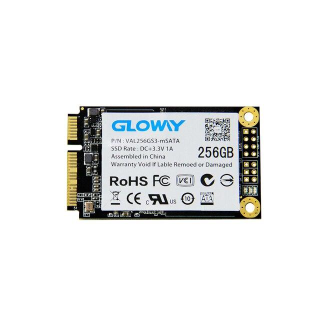Gloway msata ssd de 16 gb 32 gb 64 gb 128 gb 256 gb mlc smi2246en chipset controlador 30x50mm
