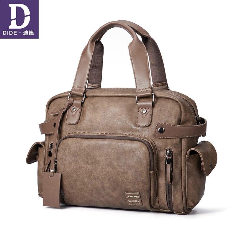 DIDE Handbag Casual&Business Shoulder Bag For 14 Laptop Top-Handle Bags Messenger Bag Leather Crossbody Bags For MenDIDE Handbag Casual&Business Shoulder Bag For 14 Laptop Top-Handle Bags Messenger Bag Leather Crossbody Bags For Men