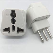 цена на Universal UK/US/EU/AU to Italy Italian Travel AC Power Adapter Converter Plug