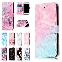 For IPhone 7 Etui Cases For Apple IPhone7 Plus 7Plus Coque Cover Granite Marble Texture Pink